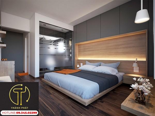 Nhà Tắm Bằng Kính Phòng Ngủ
